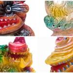 2019年4月28日の「スーパーフェスティバル80」に怪獣立体作家・gumtaro氏が参加! そこで「多肉怪獣ゴビラ」「宇宙魚人ギョグラ」「ガボギラスEX」「ギザラ」の新作gumtaro彩色版を発売!