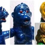 2019年4月28日の「スーパーフェスティバル80」でマルサンが先行予約を受付た「ヘドラ450」の「ピンクVer.」&「山吹色Ver.」に加えて「パゴス450」&「ゴロー450」の「BLUE GLITTER Ver.」を発売!