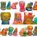 2019年4月28日の「スーパーフェスティバル80」へ出店する怪獣立体作家・gumtaro氏から追加情報が到着! 「ちくわミニシリーズ 5種セット スーフェス80 gumtaro彩色版」も発売!