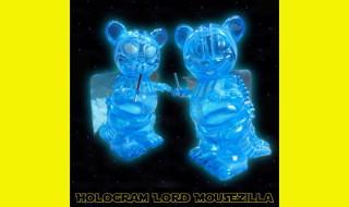 2019年4月12日0時〜2019年4月14日23時59分受付でBlackBook Toyがマイクロラン新作として「Hologram Lord Mousezilla micro run by BlackBook Toy」を抽選販売