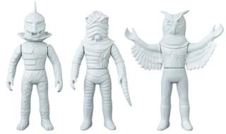 2019年4月発表の[東映レトロソフビコレクションM(ミドル)]原型スクープは『仮面ラ イダー』から「毒トカゲ男」「ミミズ男」「フクロウ男」!