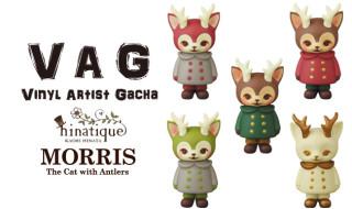 VAG(VINYL ARTIST GACHA)MORRIS (郵便局限定:1stカラー2種復刻&3種SPカラー)