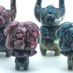 2019年5月18日〜2019年5月19日の「デザインフェスタvol.49」へ新鋭アーティスト・KAZUMAが出店! そこで「ミニ怪獣シリーズ BORIS PUPPY&PUDONG(DAN Ver)」を発売開始!