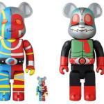 2019年5月22日より「『石ノ森章太郎 ART TOY FES.』in IKEBUKURO」開催決定! そこで[BE@RBRICK]の「キカイダー」「仮面ライダー新2号」の「100% & 400%セット」発売!