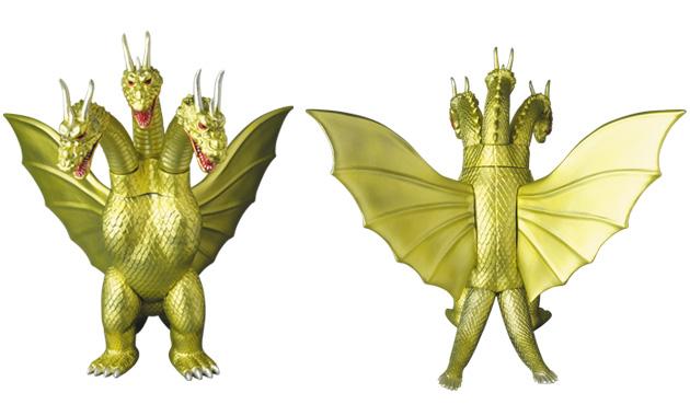 GODZILLA VINYL WARS EX キングギドラ(ゴールドカラー)