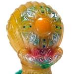 2019年6月30日の「スーパーフェスティバル81」に出店する立体怪獣作家・gumaro氏から追加情報! そこで新色「宇宙魚人ギョグラ太陽神 gumtaro彩色版」発売!