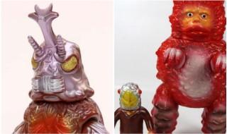 毎月恒例10日締切のブルマァク通販情報!! 今回は東宝怪獣から「メガロ」、円谷プロ怪獣から「ガラモン&セミ人間」セットだ!