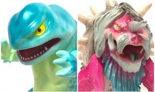 2019年6月12日22時よりドリームロケットが久しぶりに[怪忍獣包囲陣シリーズ]から「山椒魚怪獣ガンダ」「ヤドカリ怪獣ががら」の新作を予約受付開始!
