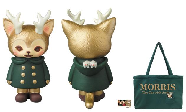 つのがはえた猫『MORRIS』限定VAGフィギュア & トートバッグセット nanacoカード付き