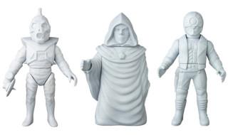 2019年7月発表の[東映レトロソフビコレクション]原型スクープは『仮面ライダーV3』から「ノコギリトカゲ」、『仮面ライダーBLACK』から「大神官ダロム」、『仮面ライダーBLACK RX』から「ガテゾーン」!