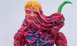 2019年7月28日の「WF2019夏」に参加する蘇生工房3onがアジアのクリエイター・planet Xとコラボした「Creepy GIANT」を抽選販売!