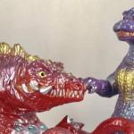 ゴジラ vs ビオランテ対決セット めぐみさんカラー