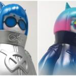 2019年7月28日開催の「WF2019夏」へ出店する造形工房密林がタカハシヒロユキミツメ氏の「メメとタコ」の通常版「(ver.Blue) 」と特別版「(ver.Earth) 」を発売!