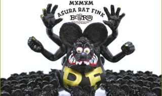 2019年7月28日の「WF2019夏」でBlackBook Toyが出店! そこで「Asura Rat Fink」の「GOLD × BK × Matte BK」を先行発売!