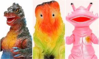 毎月恒例10日締切のブルマァク通販情報!! 今回は東宝怪獣から待望の「ゴジラ50初期版」と大人気「ヘドラ」の蓄光版、そして円谷プロ怪獣から新シリーズ「リトルカネゴンピンク」!