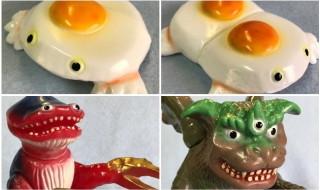 2019年7月28日開催の「WF2019夏」へ出店するアマプロが最新作「食卓の怪獣フライドエッガー&TWIN」、「大海獣ホゲイドン」、そして注目な「大怪獣バリゾーゴン」新バージョンを発売開始!