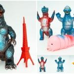 2019年7月13日よりギャラリー&ショップ・墓場の画廊限定版のブルマァク製「ゴジラ50」「東宝ミニ怪獣4体セット」を発売開始!