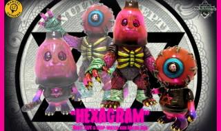 2019年7月5日0時〜2019年7月7日23時59分受付でBlackBook ToyがMarvel Okinawa氏による「HEXAGRAM Keep Watch kun & Beast GUY micro run by Marvel Okinawa」を抽選販売!