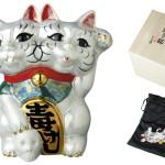魔よけ猫 (ちみどろ齋いづも作)(パール)