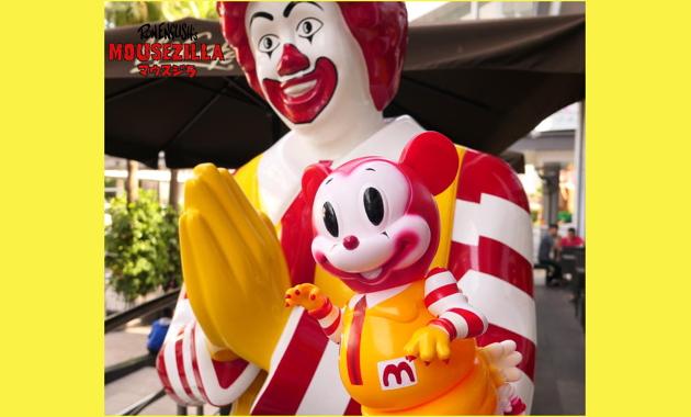 """2019年8月17日0時よりBlackBook Toyがみんな大好きな""""アレ""""の「MC Mousezilla」を発売!"""