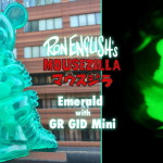 BlackBook Toyがクリアなエメラルドグリーンの「Mousezilla Emerald with GR GID mini」も続けて発売中!