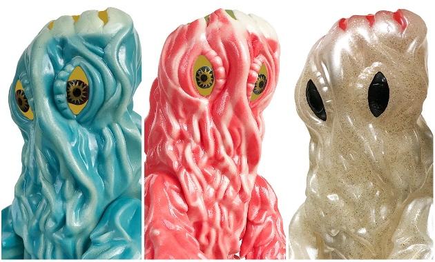 緊急情報! 明日2019年8月18日日曜開催のマルサン「ポップアップ怪獣サロンショップ」に「HEDORAH450」新バージョン3種登場!
