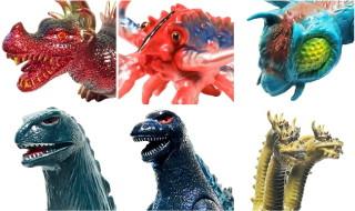 毎月恒例のマルサン通販、今月は2019年8月20日締切! 今回は東宝怪獣を大量にラインナップ! 注目は各グリター版かな!?