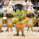 """2019年9月6日0時よりBlackBook Toyが「S""""K""""UM-kun」新作の「Melon Marble Monster」を発売開始!"""