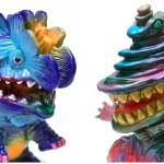 2019年9月22日の「スーパーフェスティバル82」でgumtaro氏は「多肉怪獣ゴビラ」新色と「キングギザラ」ワンオフも準備中!