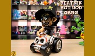 2019年9月7日0時〜2019年9月8日23時59分受付でBlackBook Toyが「Beatnik Hot Rod Gang HELL RIDE one off by Marvel Okinawa」を抽選販売!