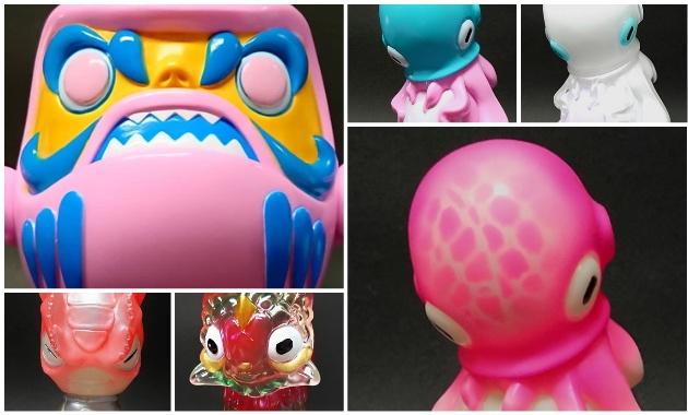 2019年10月10日からの「Taipei Toy Festival 2019」へユーキデイドリーマーが出店! そこで最新作「ダルマサンダ」「タコツボン」ほか新作限定を発売!