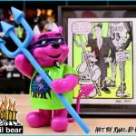2019年11月22日からの「DesignerCon2019」へ出店するBlackBook Toy、もうひとつの限定は「Rocco3 Devil Bear Classic PK」! こちらは国内も同時発売!