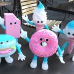2019年12月21日よりショップ・ガンキングにてdune製[フレーバーズ]限定版、第5弾「Donut Dressed cotton candy ソフビフィギュア」発売!