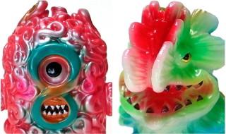 2020年1月12日の「スーパーフェスティバル83」へ出店するgumtaro氏から限定情報第2弾! 「最果て宇宙人 ムゲン」「多肉怪獣 ゴビラ」新バージョンも登場!