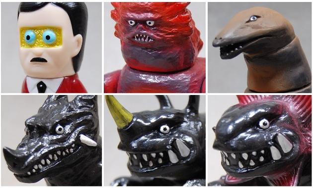 円谷プロ作品のみの「Wonder Festival 2019 [Tsuburaya]」が2019年12月14日から2日間開催! そこでサンガッツ本舗が[円谷怪獣総進撃]から様々な新作を発売!