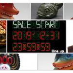 緊急告知! ショップ・One up.の年末恒例Online Store年末ぎりぎりセール、今年も開催! 2019年12月31日23時59分59秒発売のソフビ争奪戦開催!