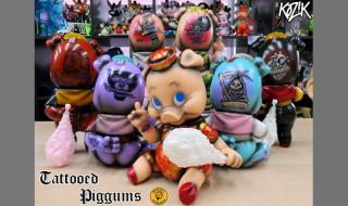 2019年12月13日0時〜2019年12月15日23時59分受付でBlackBook ToyがMarvel Okinawa氏の「Tattood Piggums one off by Marvel Okinawa」を抽選販売!