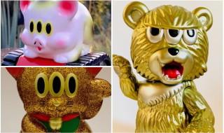 2020年1月12日の「スーパーフェスティバル83」へアートジャンキー東京が出店! そこで「クマラ」「ブタタン(ク)」「招きカームキャット」の新年イベント限定カラーが登場!