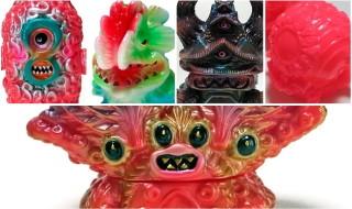 立体怪獣作家のgumtaro氏が「スーパーフェスティバル83」で発売した新作を2020年1月20日21時より通販開始!
