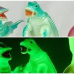 緊急告知! 「特撮のDNA〜平成ガメラの衝撃と奇想の大映特撮」展でのM1号限定「マルサン復刻ソフビ3体セット」の再販分が2020年1月25日発売!