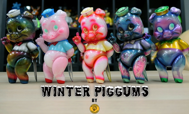 2020年1月17日0時受付開始でBlackBook Toyが「Winter Piggums one offs by Marvel Okinawa」を抽選販売!