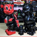 "2020年2月14日0時よりBlackBook ToyがRon English氏との「Mousezilla」」で「""Red Devil""」「""Ninja""」を発売開始!"