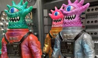 2020年2月9日の「WF2020冬」でRIFLEMANは気になる山吉屋コラボ「RIFLEMAN ソフビシリーズ 怪獣ガッチャ 山吉屋コラボ(Limited)」を準備中!