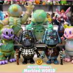 2020年3月21日0時〜2020年3月22日23時59分受付でBlackBook ToyがMarvel Okinawa氏によるワンオフ「Marvel Okinawa' s Marbled World one offs」を抽選販売!