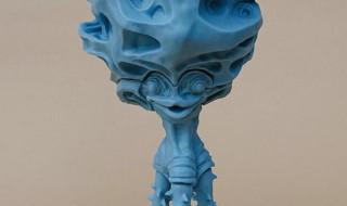 ビリケン商会にて久しぶりに「リアルモデルキットシリーズ チブル星人未彩色版」が登場! 今回の成型色はホライズンブルーだぞ!!