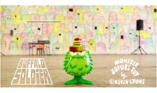 2020年4月10日0時〜2020年4月30日までBlackBook Toyがアーティスト・Kevin Lyons氏初のソフビ「Buffalo Soldier OG」を予約受付中!