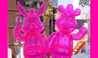 2020年5月1日0時よりBlackBook ToyよりFrank Kozik × BlackBook Toyの 「Lil Alex and Dim Clear Neon PK」発売開始!