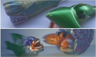 二代目フレップ堂の通販情報第2弾! 「海洋生物シリーズ フクロウナギ&ボウエンギョセット(蓄光)」「MSGシリーズ Do!raku&デンジャーフィッシュセット」を受注販売!