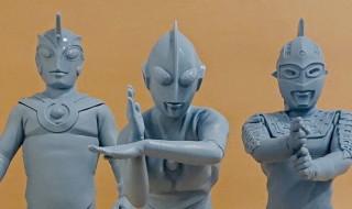 ビリケン商会にて[リアルモデルキットシリーズ]の「ウルトラマンBタイプ」「ウルトラセブン」「ウルトラマンエース」それぞれの未彩色キット発売中!
