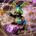 Frank Kozik × BlackBook Toyの「Racer 95」にMarvel Okinawa氏のカスタムが登場! 2020年5月1日0時〜2020年5月2日受付で抽選販売!